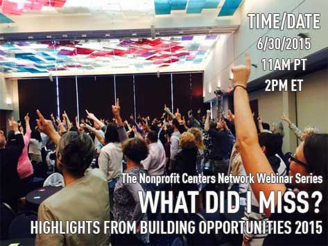 What Did I Miss? Highlights from Building Opportunities 2015