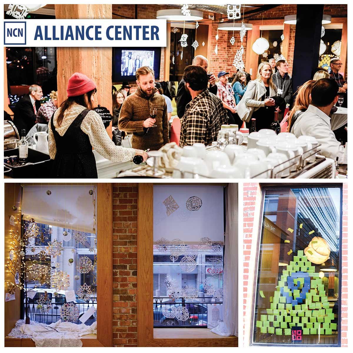 Alliance Center Holiday Decor