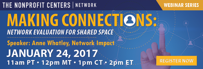 Making Connections: Network Evaluation for Shared Space