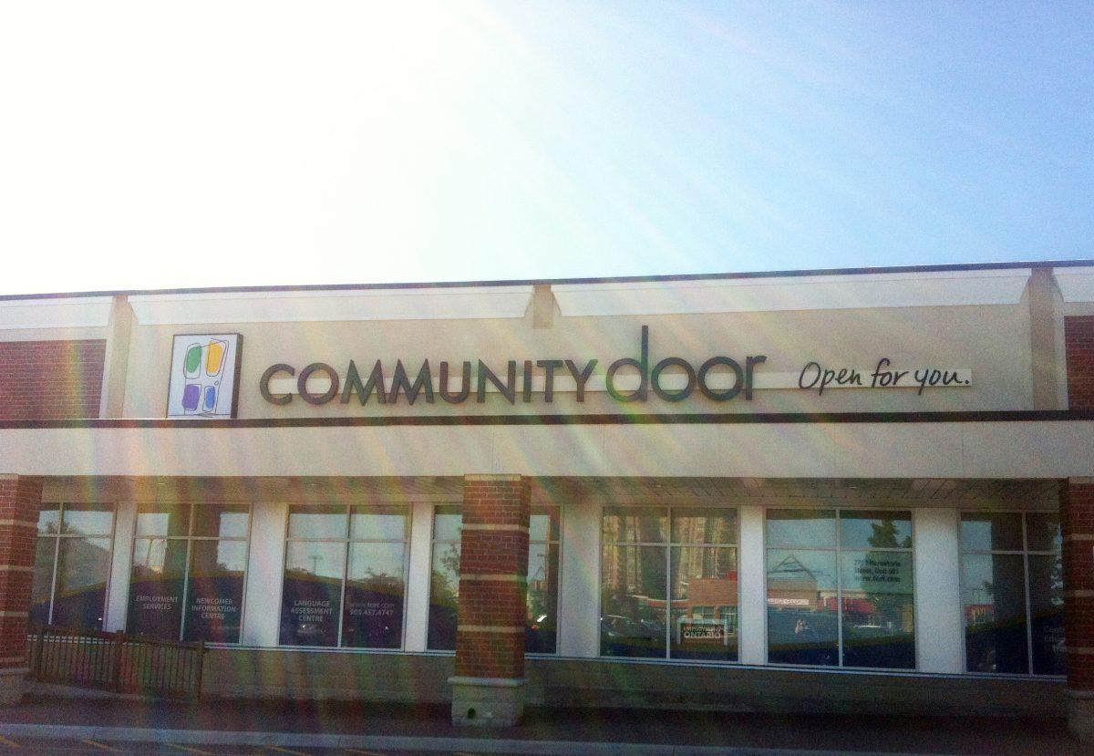Community Door Photo