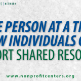 One Person At Time: Support Shared Resources
