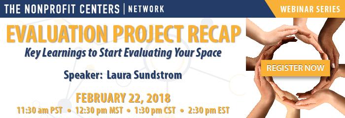 Evaluation Project Recap Webinar