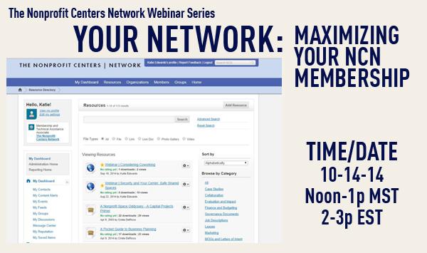Your Membership: Maximizing Your NCN Membership