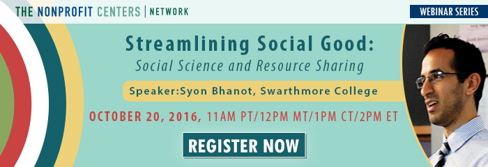 Streamlining Social Good: Social Science and Resource Sharing