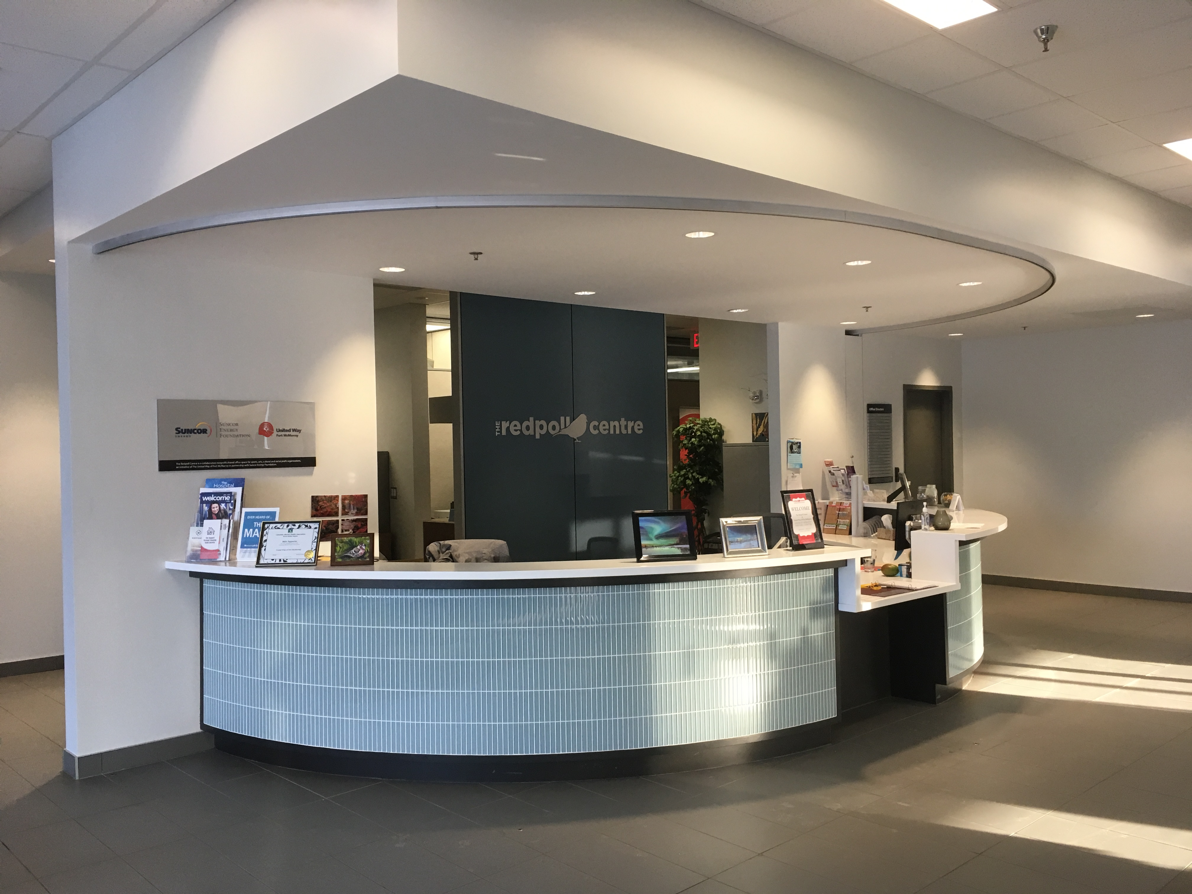 Redpoll Centre Front Desk