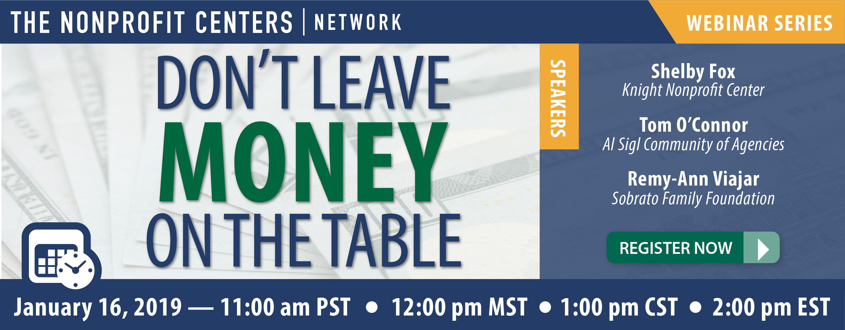 Don't Leave Money on the Table Webinar